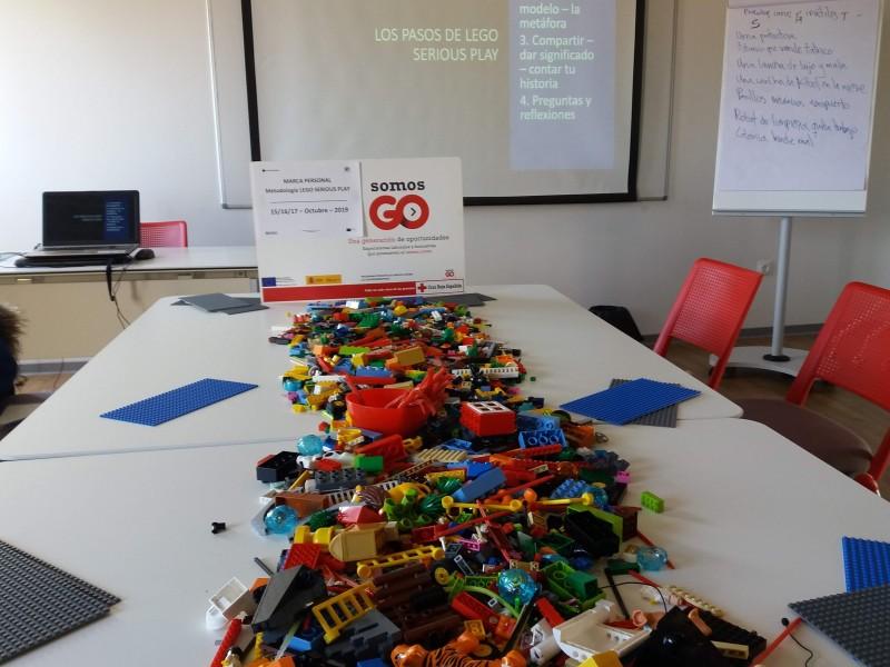 Taller de Marca Personal con LEGO® SERIOUS PLAY, Personal Branding Canvas y el sistema de Indagación Apreciativa